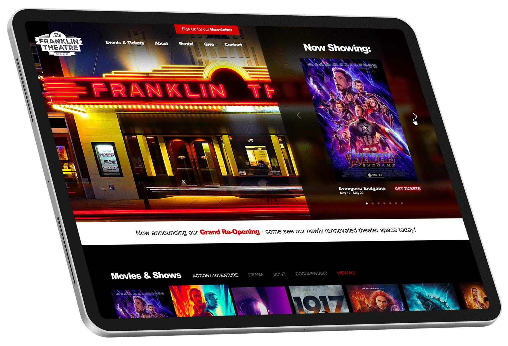 web design for a franklin tn company with digital marketing